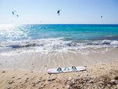 Agios Ioannis beach on the Ionian island of Lefkas Greece — Stock Photo