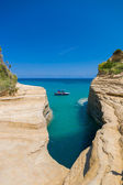 Sidari Canal d'amour Corfu island — Stock Photo