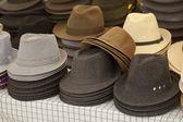Various hats — Stock Photo