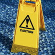 Caution wet floor — Stock Photo #12756084