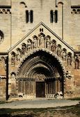 Church entry door — Stock Photo