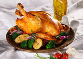 Pollo asado — Foto de Stock