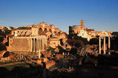Ruins of Rome Forum — Stock Photo