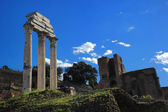 Ruins of Rome Forum in Rome — Stock Photo