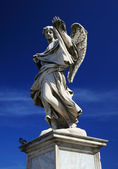 Sant Angelo statue. Rome, italy — Stock Photo