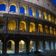 The Colosseum at night, Rome — Stock Photo