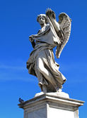 Angel statue, Rome — Stock Photo