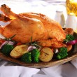 Roasted chicken — Foto de stock #28244449