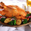 Roasted chicken — Stock Photo #28244449
