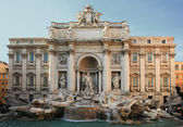 The Famous Trevi Fountain, Rome — Stock Photo