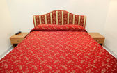 Red bed — Stock fotografie