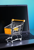 E-commerce shopping — Stock Photo