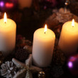 Christmas candles — Stock Photo #39275287