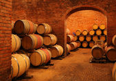 Wine barrels — Photo