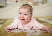 Cute smiling baby — Stock Photo