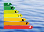 Water energy effectivity — Stock Photo