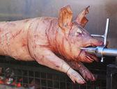 Kavrulmuş domuz eti — Stok fotoğraf