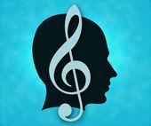 Musical man — Stock Photo