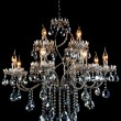 Contemporary glass chandelier — Stock Photo #14281893