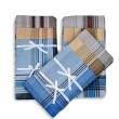 Set of three handkerchiefs — Stock Photo