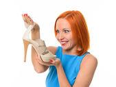 高いヒールの靴 — ストック写真