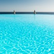 Infinity pool - Stock Photo