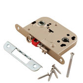 Door lock assembly on White Background — Stock Photo