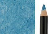Blue Makeup pencil with sample stroke — Stock Photo