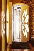 Tanning booth - solarium — Stock Photo