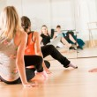 Stock Photo: Dance class for women