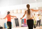 Dance class for women — Stock Photo