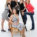 Six Young women — Stock Photo #27404979