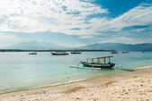 Indonesian island — Stock Photo