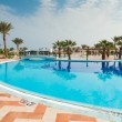 Egypt holiday resort — Stock Photo