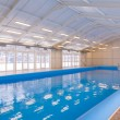 Indoors swimming pool — Stock Photo