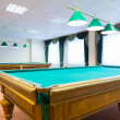 Billiard tables — Stock Photo