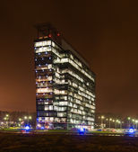 Commercial office buildings exterior - Night view — Stock Photo