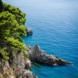 Adriatic sea view — Stock Photo