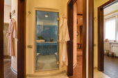 Modern spa center interior — Stock Photo