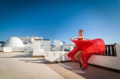 Flamenco dancer — Stock Photo