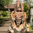 Traditional Balinese God statue — Stock Photo