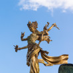 Bali goddes of dance statue — Stock Photo #33697859