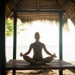 Woman meditating — Stock Photo #36034367