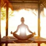 Woman meditating — Stock Photo #36104107