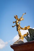 Bali goddes of dance statue — Stock Photo