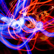 Abstract light trails — Stock Photo