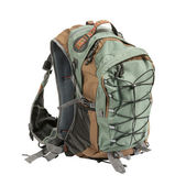 Tourist backpack isolated — Stock Photo