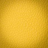 Yellow leather macro shot — Stock Photo