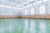Indoors tennis court — Stock Photo