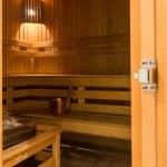 Interior of finnish sauna — Stock Photo #41260013
